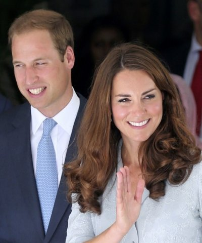 Kate Middleton Gives First Speech Abroad