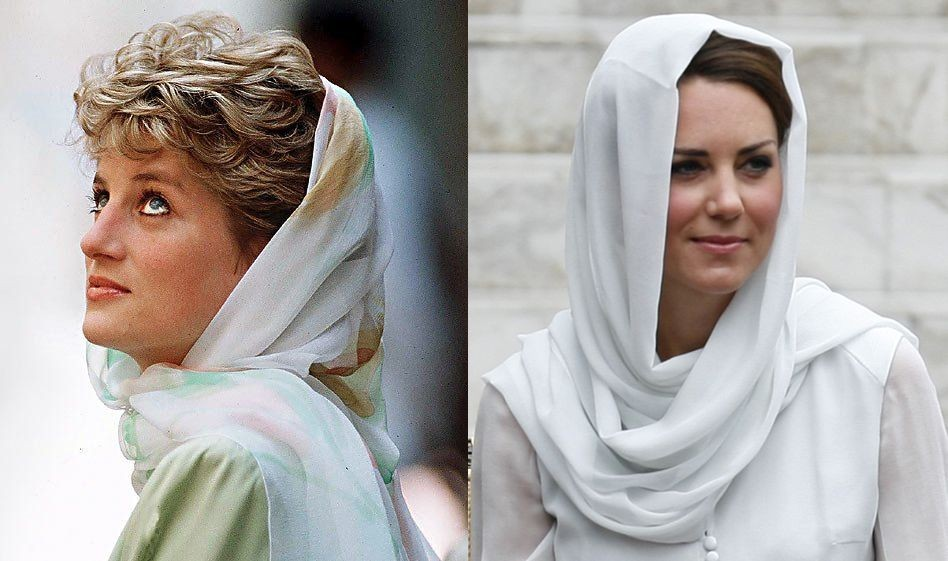 Kate Middleton resembles to Princess Diana as she beams in Beulah London dress