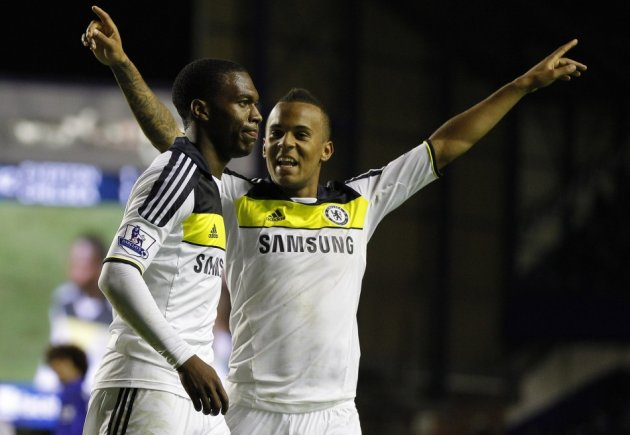 Ryan Bertrand and Daniel Sturridge