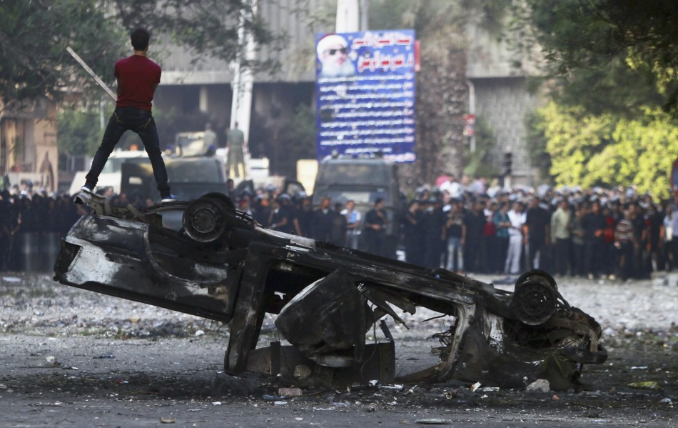 Violence and Outrage Cairo