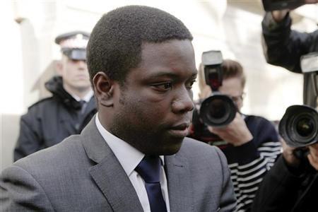 UBS banker Kweku Adoboli allegedly lost his bank £1.4 billion (Reuters)