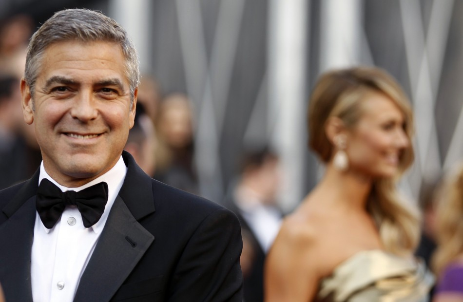 George Clooney in a Suit