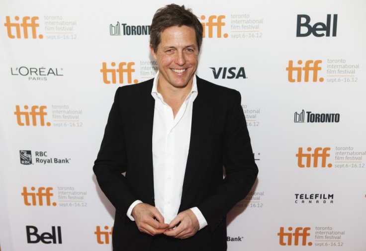 Hugh Grant in a Suit