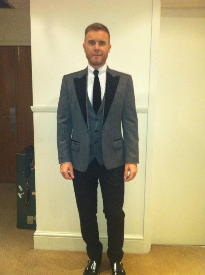 Gary Barlow in a Suit