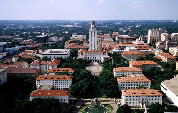 The University of Texas at Austin has ordered an evacuation of all buildings on campus because of a bomb threat. (Facebook)