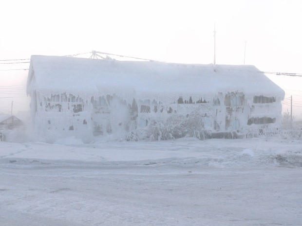 Oymyakon: Coldest settlement on earth hit -62C - then the thermometer broke