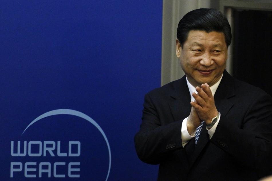 Chinese Vice President Xi Jinping