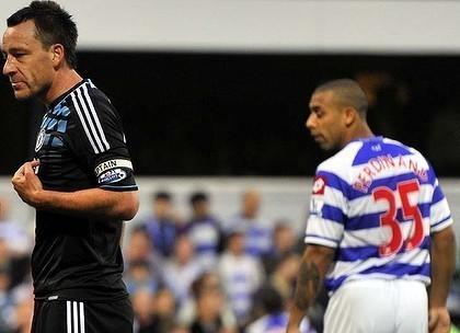John Terry (L) and Anton Ferdinand