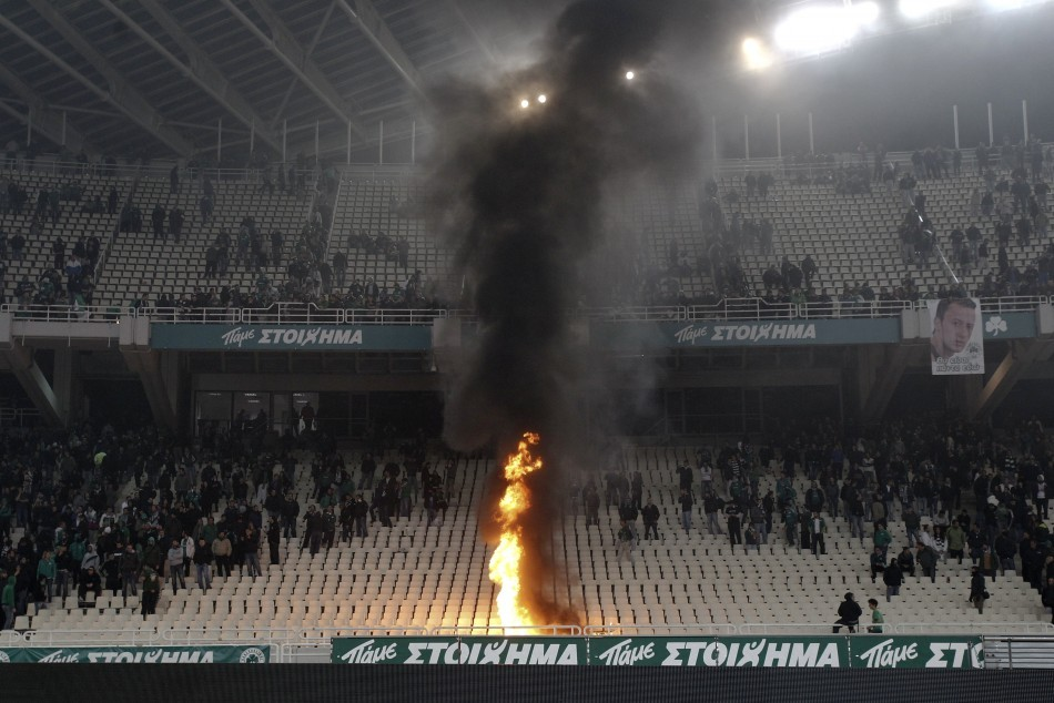 Panathinaikos v Olympiakos