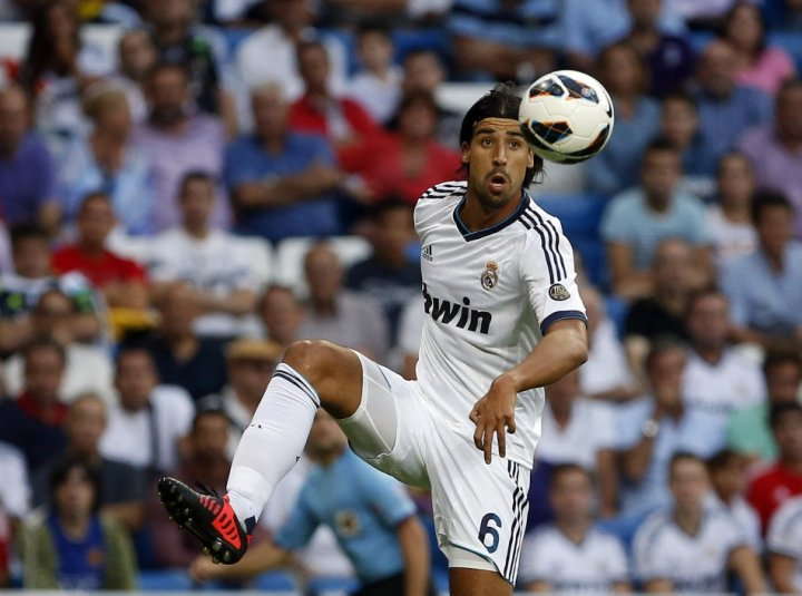Real Madrid Sami Khedira