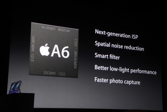 iPhone 5's A6 Chip