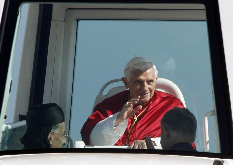 Pope Benedict XVI Conducts Open Air Mass in Beirut