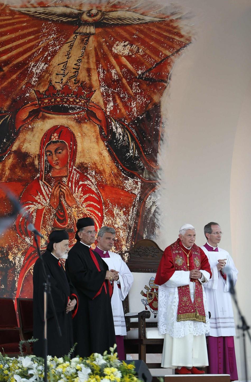 Pope Benedict XVI in Beirut
