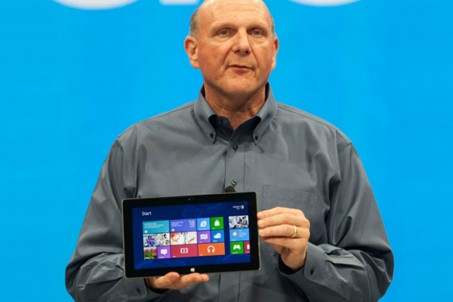 Ballmer and Microsoft Surface