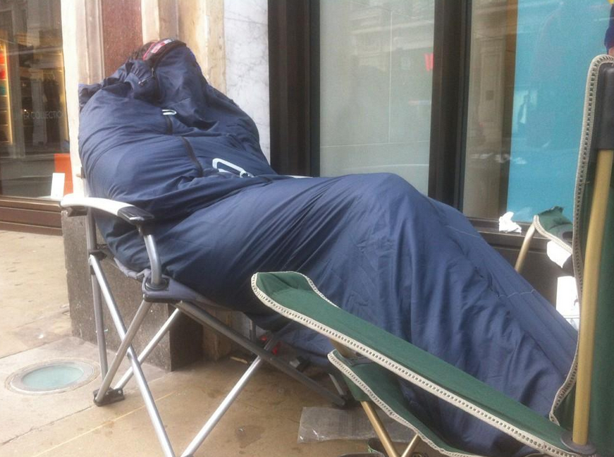 iPhone 5 queue