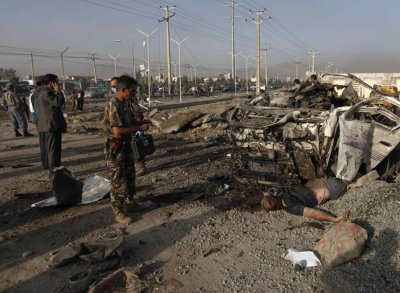 Suicide bomb attack in Kabul
