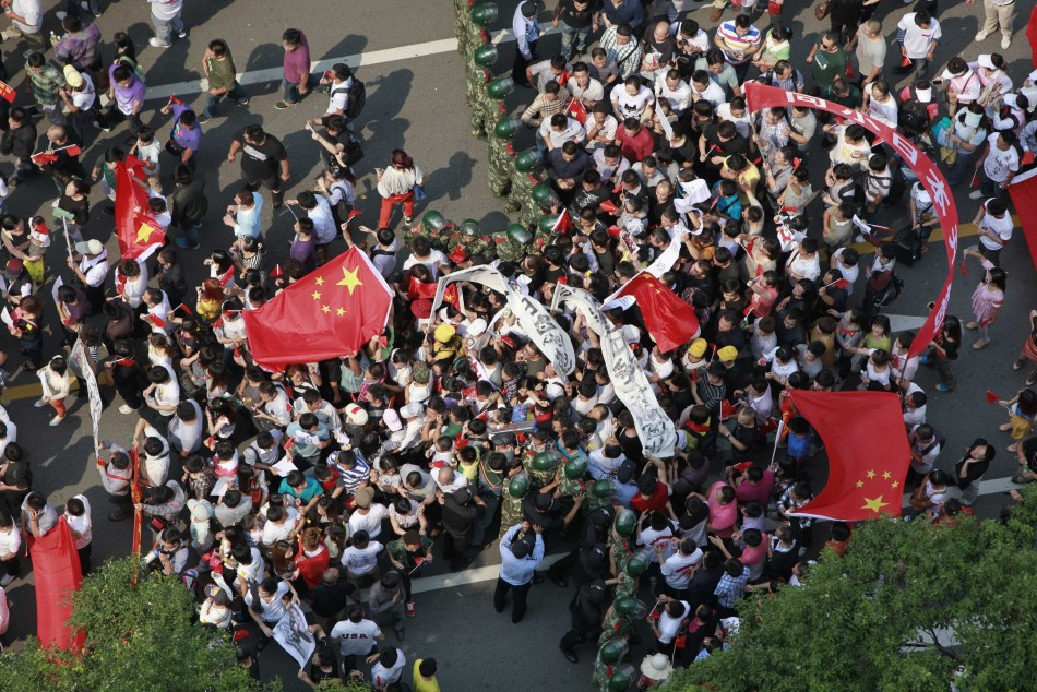 Anti-Japan protests in China