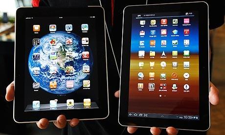 Samsung Galaxy Tab 10.1 and iPad