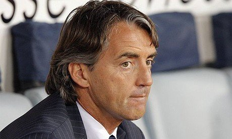 Manchester City boss Roberto Maicini