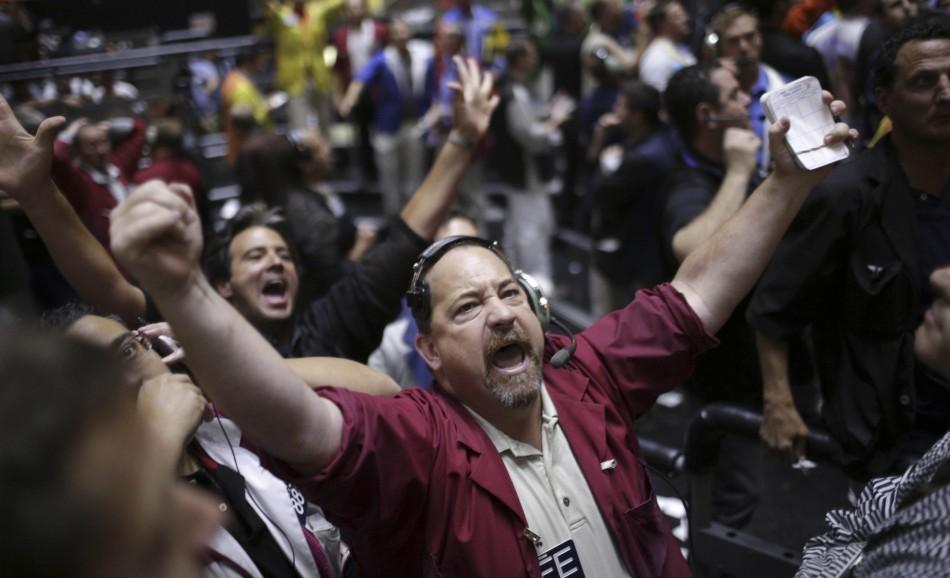 Traders on market slump reuters