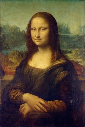 Mona Lisa painting on permanent display at the Musée du Louvre in Paris. (Photo: Wikimedia Commons)