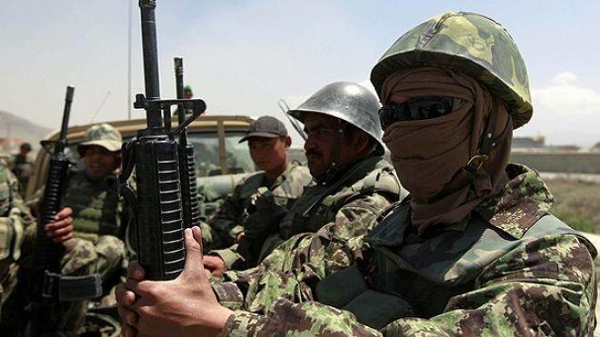 Afghan troops in Afghanistan