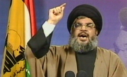 Hezbollah chief Hassan Nasrallah