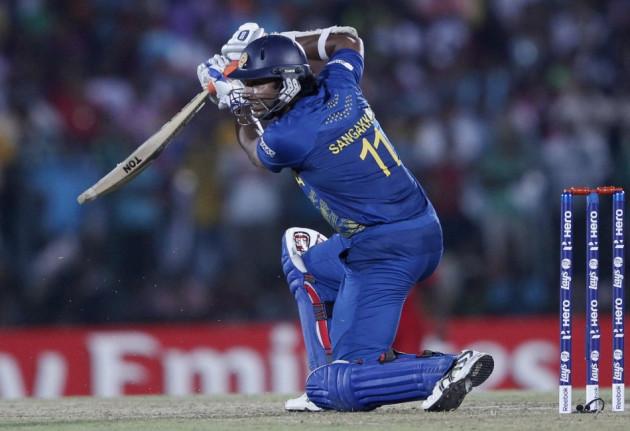 Sri Lanka's Kumar Sangakarra