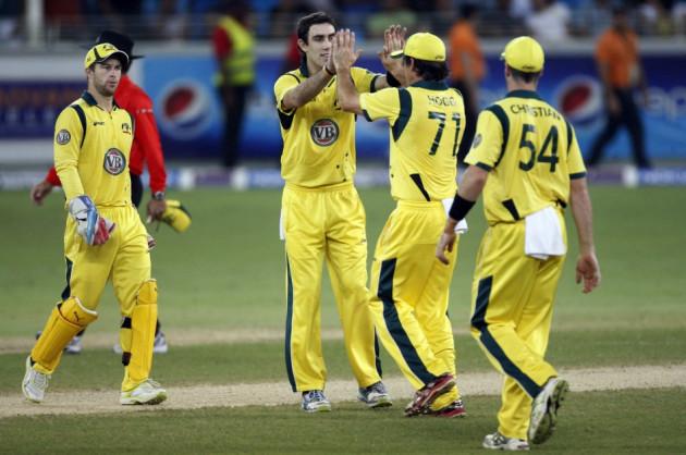 Australia v Pakistan in Dubai
