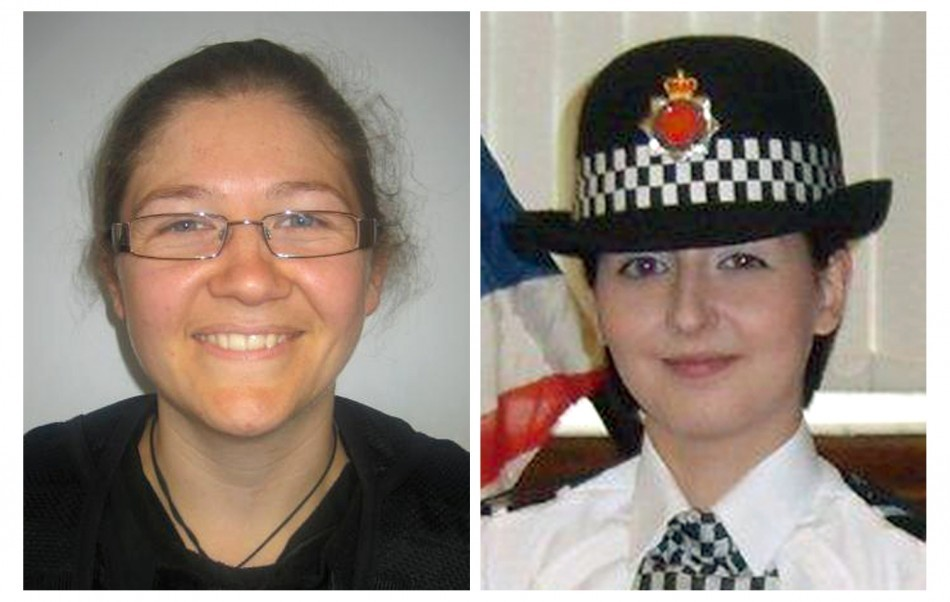 Fiona Bone (L) and Nicola Hughes were both killed in the attack (GMP)