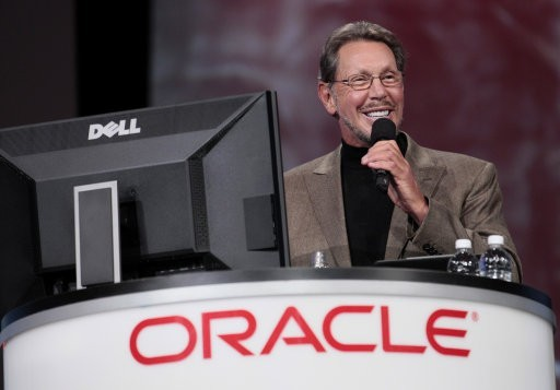 No 3: Larry Ellison