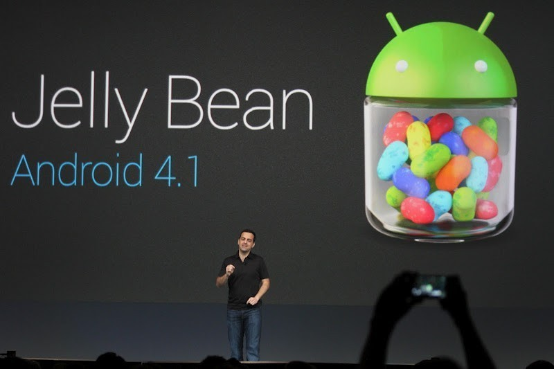 Jelly Bean OTA update