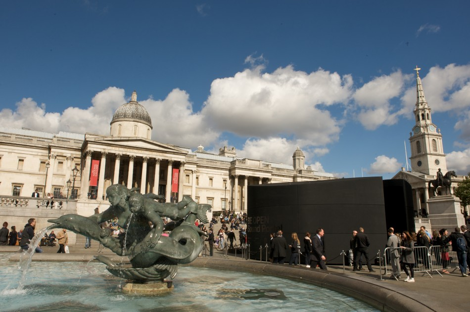 BE OPEN Sound Portal in Trafalgar Square, London (Photo: Sarah Smart Photography, courtesy of BE OPEN)