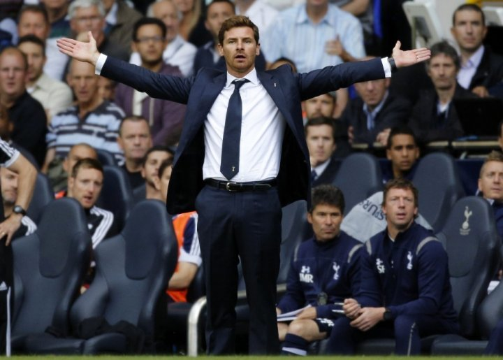 Tottenham Hotspur boss Andre Villas-Boas