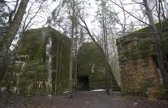 Third Reich in ruins: Wolf's Lair today