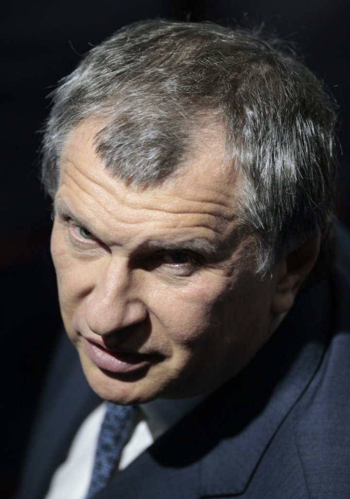 Russia's Deputy PM and Rosneft CEO Sechin looks on during the St. Petersburg International Economic Forum in St. Petersburg (Photo: Reuters)