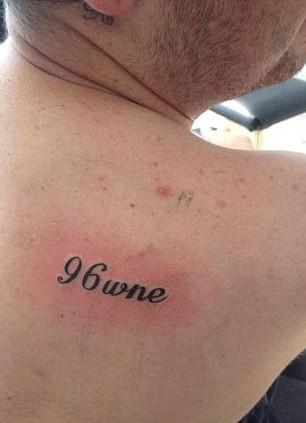 Hillsborough tattoo