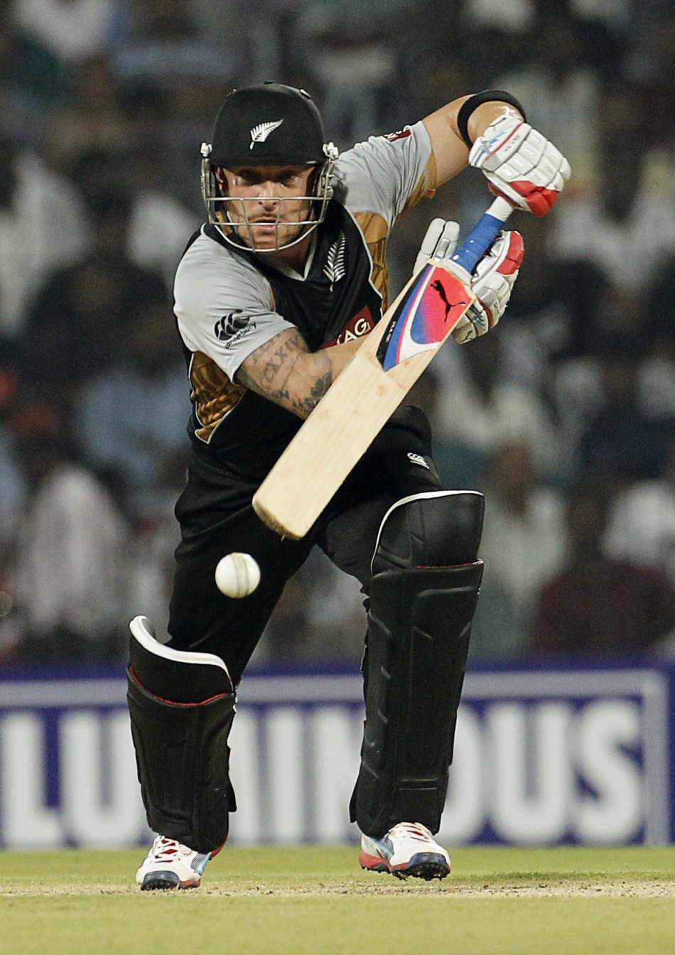 Brendon McCullum v India