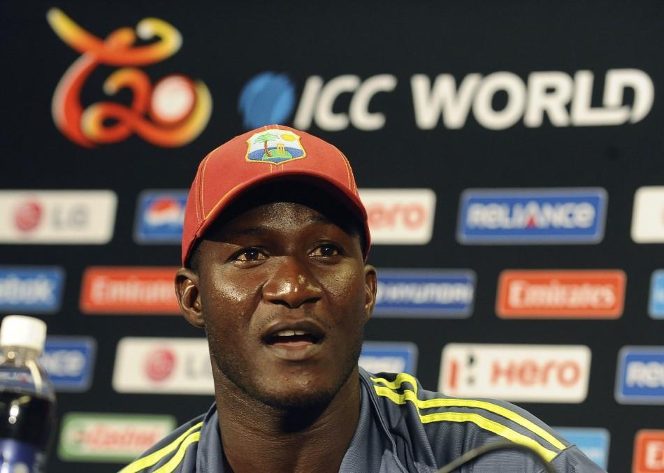 West Indies captain Darren Sammy