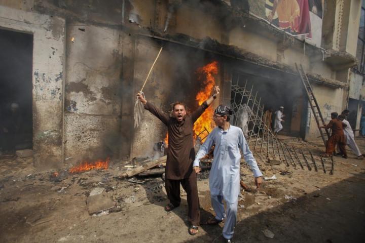 Film protest in Pakistan