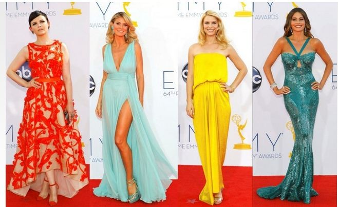 Best Dressed at 2012 Emmy Awards