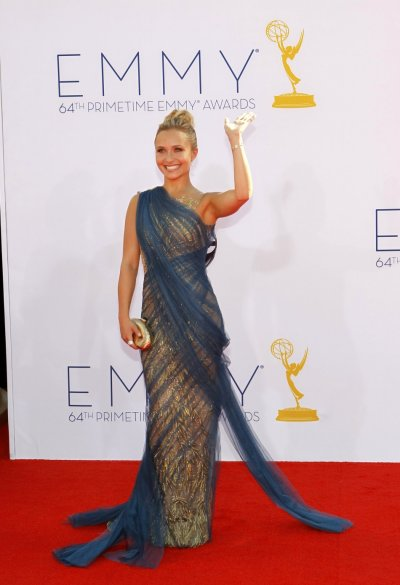 Actress Hayden Panettiere arrives at the 64th Primetime Emmy Awards in Los Angeles