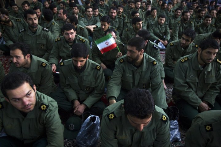 Members of the revolutionary guard