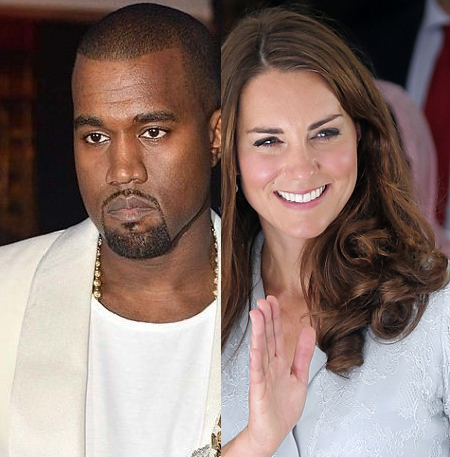 Kanye West Kate Middleton