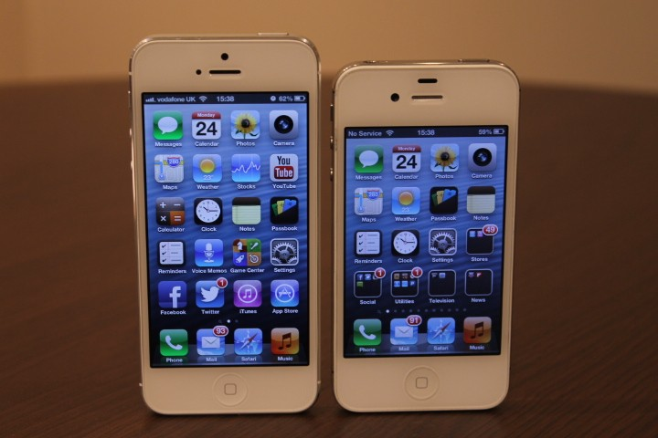 iphone 5 vs iphone 4s slideshow. Black Bedroom Furniture Sets. Home Design Ideas