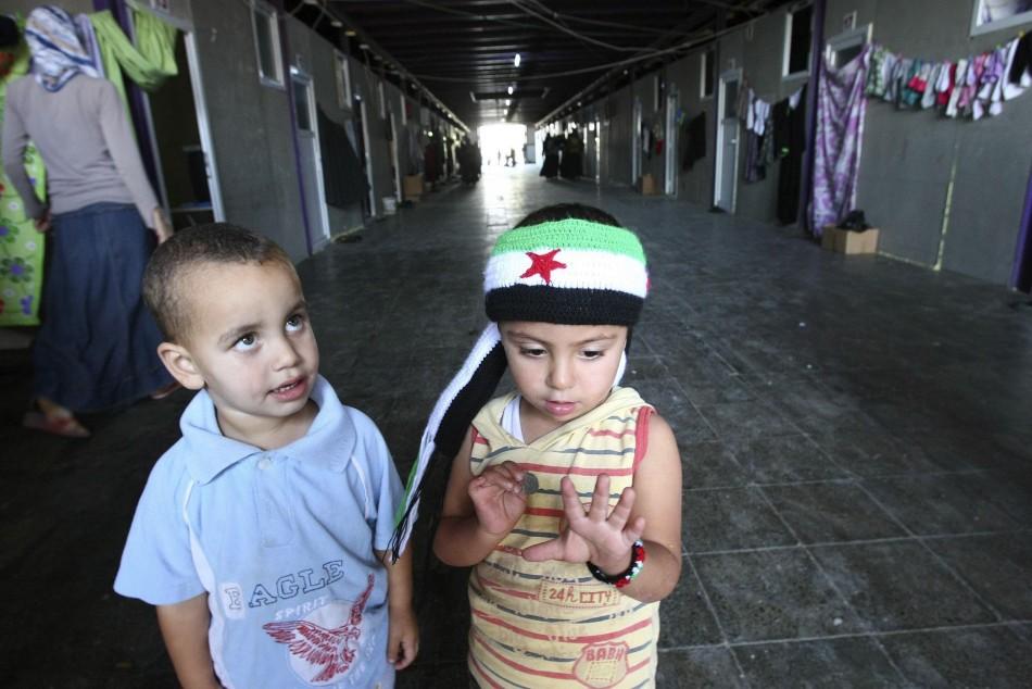 Syrian chilren
