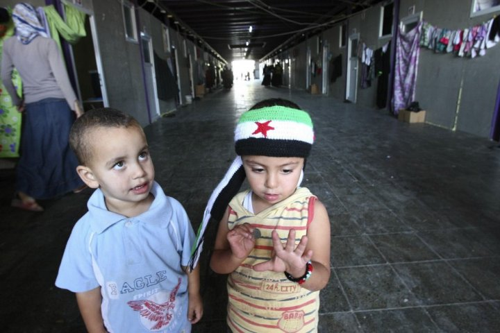 Syrian chilren