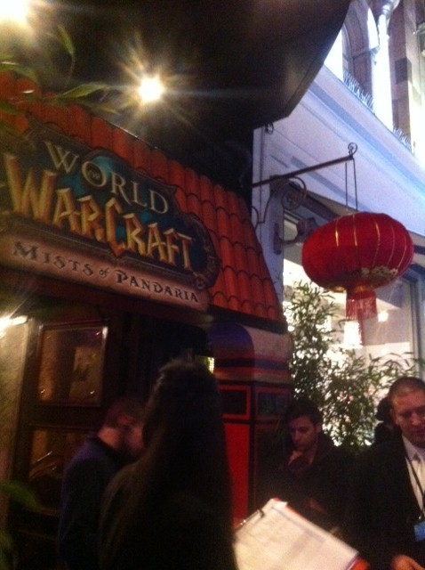 Some fans queued for nearly 2 days to get into the London World of Warcraft: Mists of Pandaria launch party on 24th September (Photo: Lianna Brinded)