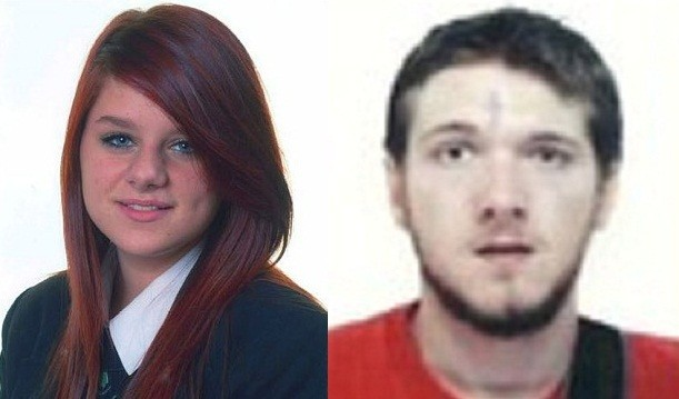 Megan Stammers and Jeremy Forrest are thought to have fled to France together (East Sussex Police)