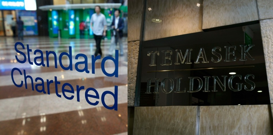Standard Chartered and Temasek